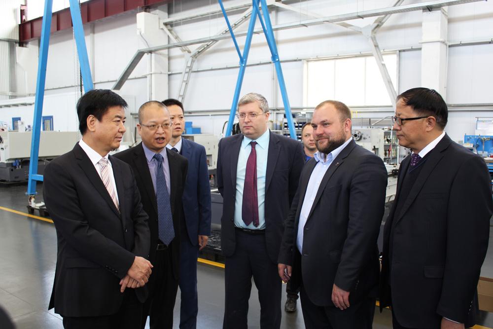 Китайская станкостроительная компания изучает возможность размещения производства вПензенской области