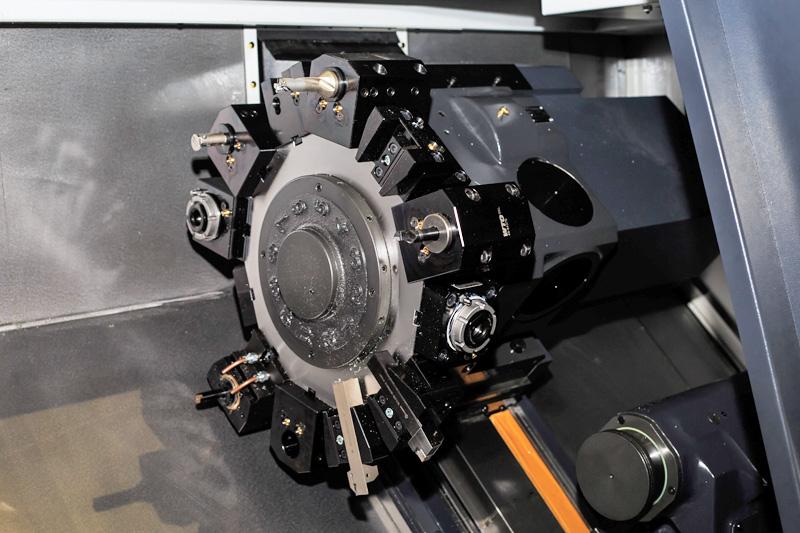 Револьверная голова токарного обрабатывающего центра СТ25