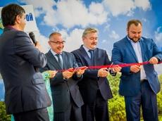 Открытие первого сборочного цеха компании Станкомашстрой