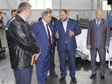 Визит президента ассоциации  «Станкоинструмент» Георгия Самодурова