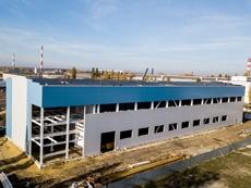 Строительство второго производственного цеха