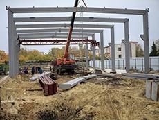 Строительство третьего производственного цеха